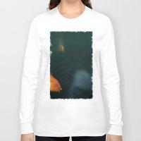 underwater Long Sleeve T-shirts featuring Underwater by Filip Radulescu