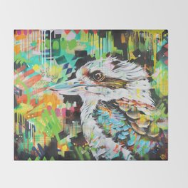 Serious Business [Kookaburra] Throw Blanket