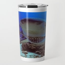 Snooty Shark Portrait Travel Mug