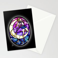 Stained Glass Sailor Moon Stationery Cards