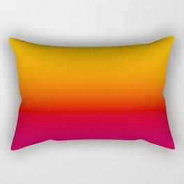 sunSET Ombre Gradient Rectangular Pillow