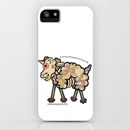 Sheep for Brains iPhone Case