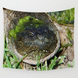 Common Female Snapper Turtle  Wall Tapestry