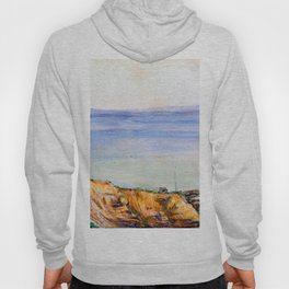 View of Swanage Bay Hoody