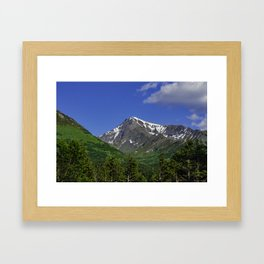 Scenic Seward Highway - Summer Framed Art Print