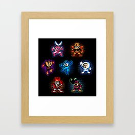 Megaman 1 Framed Art Print
