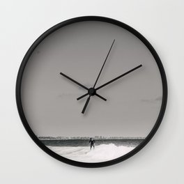 surfer i Wall Clock
