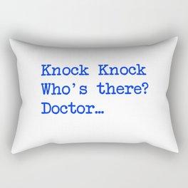 Knock-Knock 3 Rectangular Pillow
