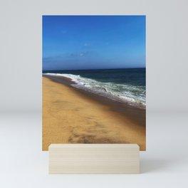 Ocean at Sandy Hook, New Jersey Mini Art Print