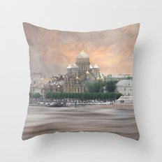 View from the Neva Throw Pillow