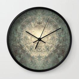 Filagree Field Wall Clock
