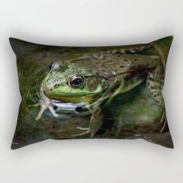 Frog Floating Rectangular Pillow