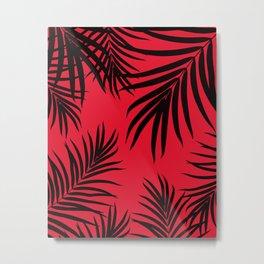 Palm Leaves Pattern Summer Vibes #12 #tropical #decor #art #society6 Metal Print