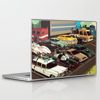 cars Laptop & iPad Skins featuring Cars by Dave Collinson