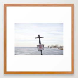 Save Us Framed Art Print