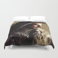 thorin Duvet Covers featuring Thorin by Wisesnail