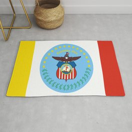 flag of Colombus Rug