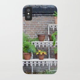 Pots and plants iPhone Case