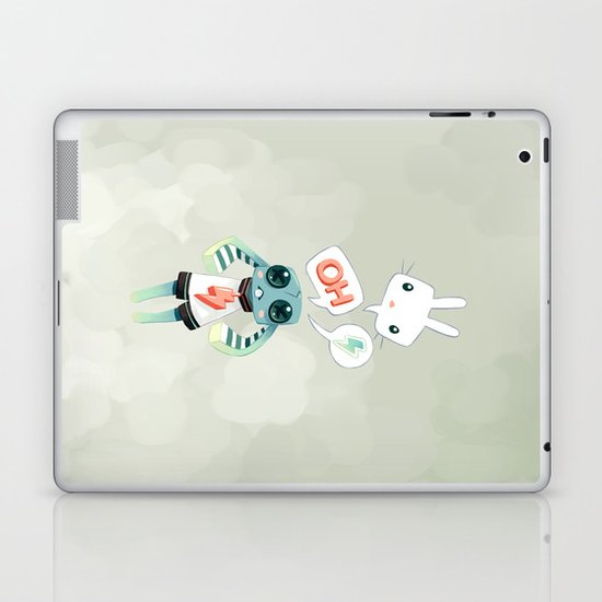 Bunny Doll Laptop & iPad Skin