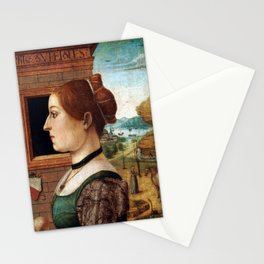 Maestro delle Storie del Pane Portrait of a Woman Stationery Cards