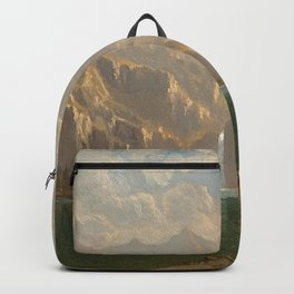 'In Yosemite on a Summer's Day' landscape painting by Gilbert Munger Backpack