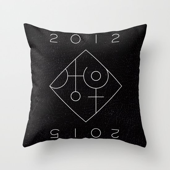 Uranus Square Pluto Throw Pillow