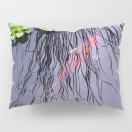 GoldFish In The Pond By Annie Zeno Pillow Sham