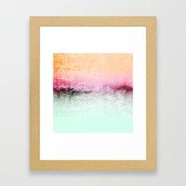 SUNDREAMER MINT Framed Art Print
