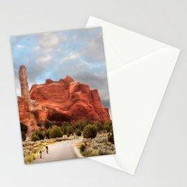 A Ride in Kodachrome Basin State Park close to sunset Stationery Cards