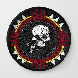 Zia Skeleton Wall Clock