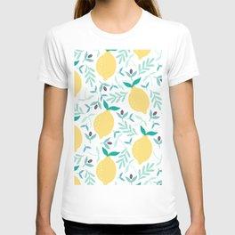 Lemon & Blueberry Pastel T-shirt
