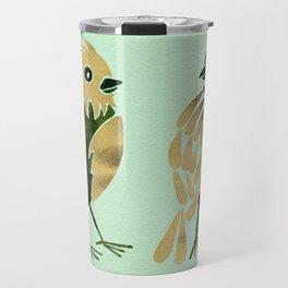 24-Karat Goldfinches Travel Mug