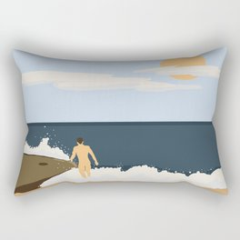 Private Beach 2 Rectangular Pillow