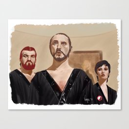 Kneel! Canvas Print