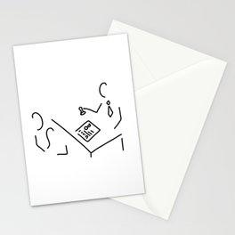 notary public lawyer Stationery Cards