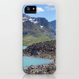 Alaska Glacial Lake iPhone Case