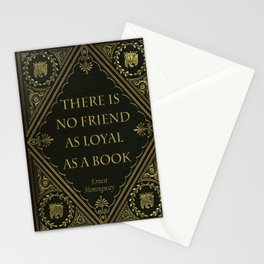Book Quote 10 Stationery Cards