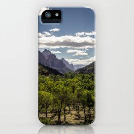 Lush Valley iPhone Case