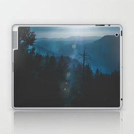 Yosemite, Blue Laptop & iPad Skin