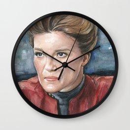 Captain Kathryn Janeway Wall Clock