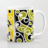 maori Mugs featuring Maori Kowhaiwhai Pattern by mailboxdisco