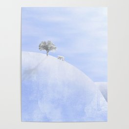 The polar bear and the tree Poster