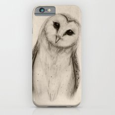 Barn Owl Sketch Slim Case iPhone 6