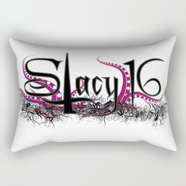 Stacy 16 logo White Rectangular Pillow