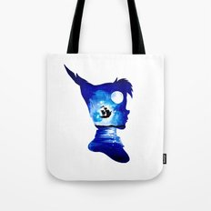 Peter Pan Double Exposure Tote Bag