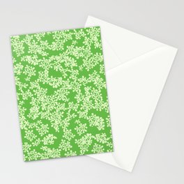 Florestan (Green) Stationery Cards