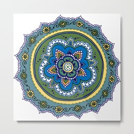 Easy Tabrizi Metal Print