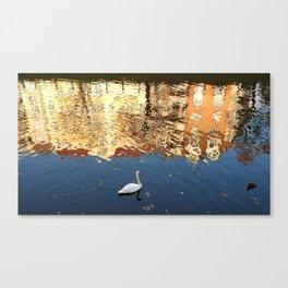 Reflector Swan II Canvas Print