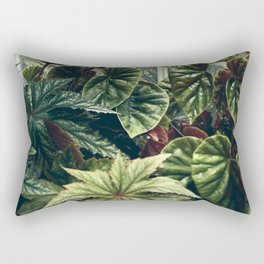 Beautiful Begonias Rectangular Pillow
