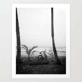 Caribean bike Art Print